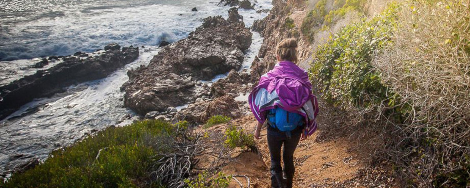oystercatcher trail, beach trail, southern cape hiking trail, coastal trail