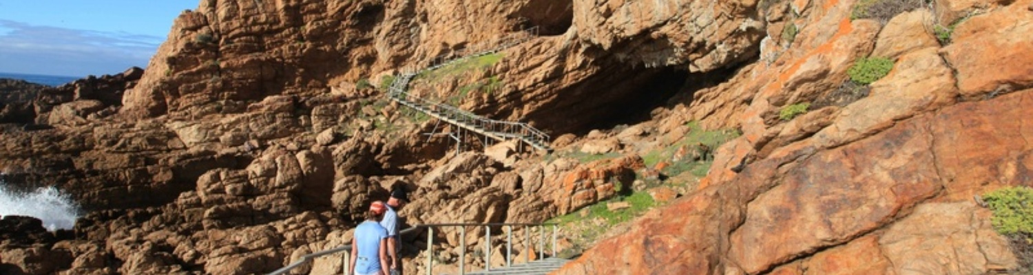 archaeological proof at Point of Human Origins near Mossel Bay